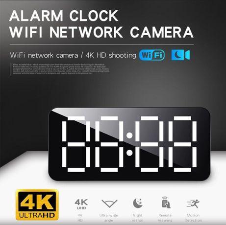 Kamera Szpiegowska Zegarek 4K audio SD mini budzik zegar
