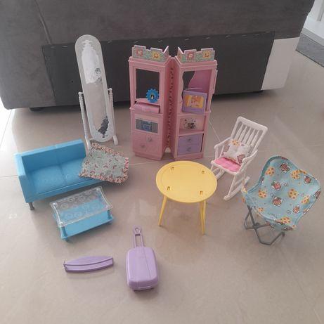 Mattel Barbie meble salon dla lalek