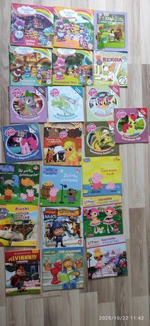 Elmo, Troskliwe misie, LALALOOPSY, Peppa, My little pony, Barbie