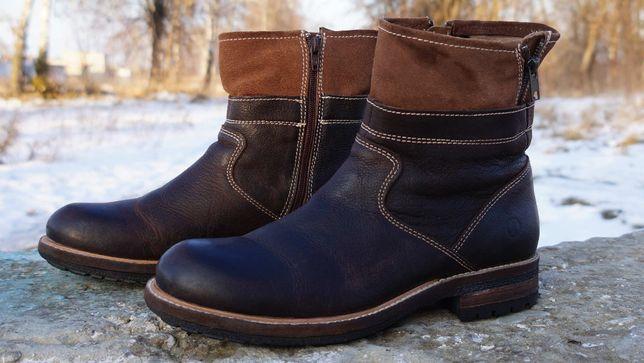 Шкіряні, демісезонні черевики, ботінки Cafenoir