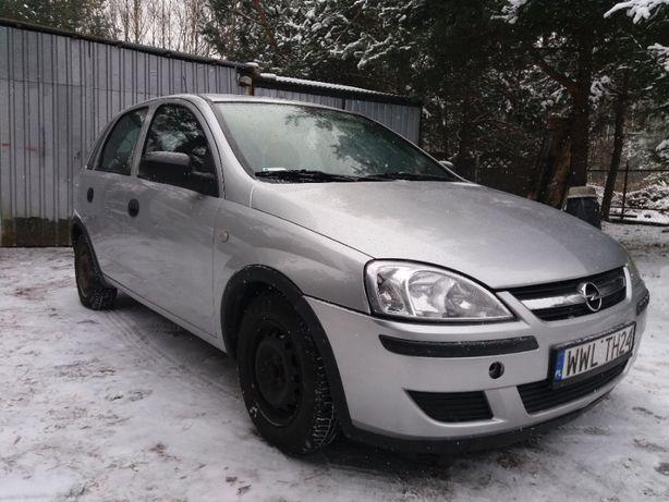 Opel Corsa 1.2 Benzyna+Gaz - 2005 rok - Salon Polska - Opony Zimowe