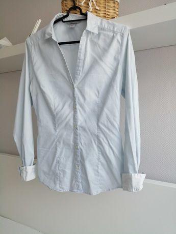 Koszula niebieska 38 H&M