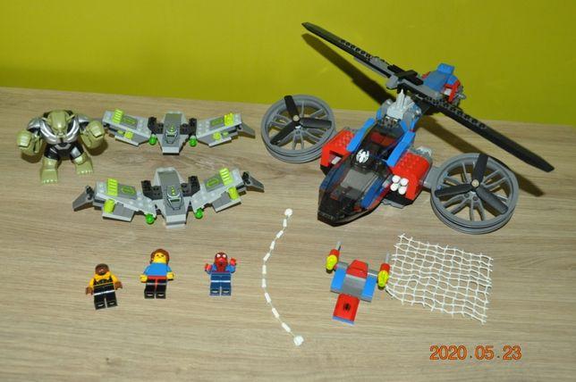Lego Avengers Spiderman, + baza Hulka