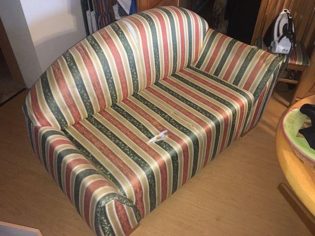 Fajna kanapa do renowacji, oddam za darmo