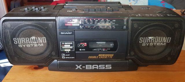 Radiomagnetofon Boombox  SHARP WQ-T352H.