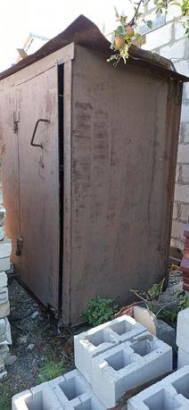 Металлический 8 мм. метал  шкаф будка контейнер