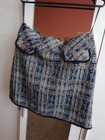 Dunnes stores spódnica mini z kieszeniami 42