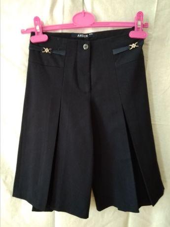Школьная юбка-шорты с 1-3 клас