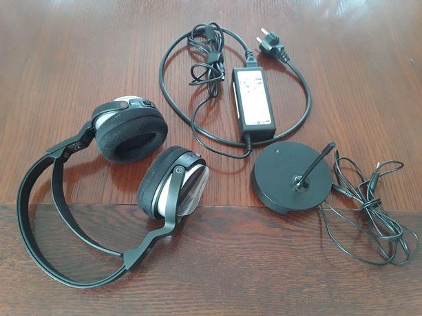 Słuchawki bezprzewodowe Sony, czarne