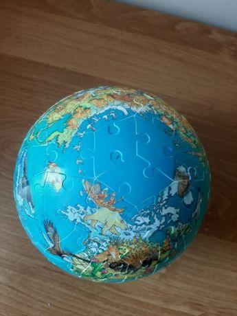 Puzzle globus 3D dla dzieci