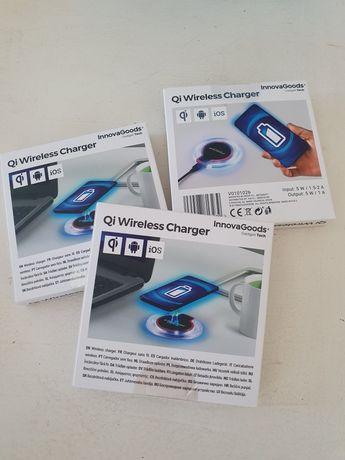 Carregador sem fios wireless para telemóveis da Innova Goods