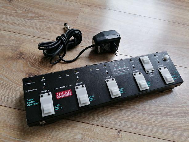 G-LAB GSC looper, Kontroler systemu gitarowego Midi. Zamiana.