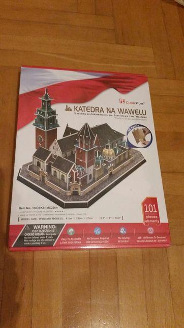 Nowe Puzzle 3d Katedra na Wawelu