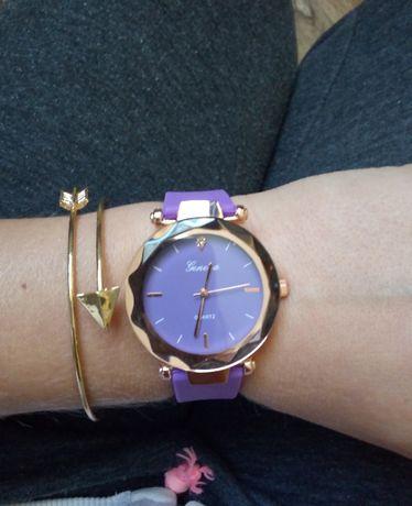 nowy zegarek silikonowy pasek