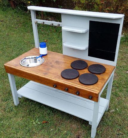 Kuchnia / warsztacik ogrodowy błotna montessori (możliwa wysyłka)