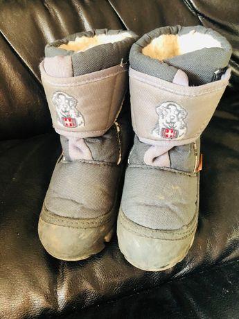обувь зимняя для мальчика сапоги кроссовки Geox