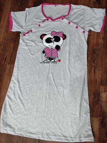 Piękna nową Koszula ciążowa do karmienia r. M L Bawełna