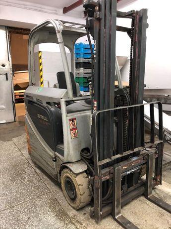 Wózek widłowy Still RX20-15 elektryczny, zamiana