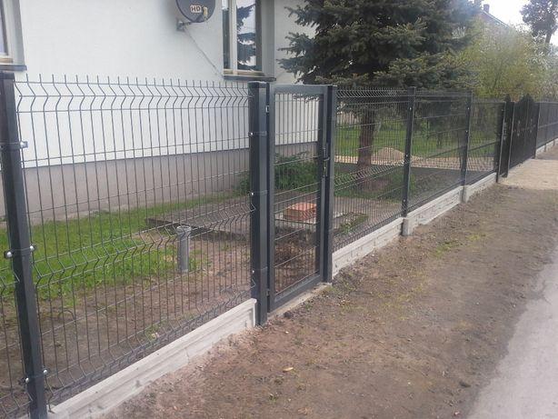 Montaż ogrodzeń z paneli Włoszczowa i okolice