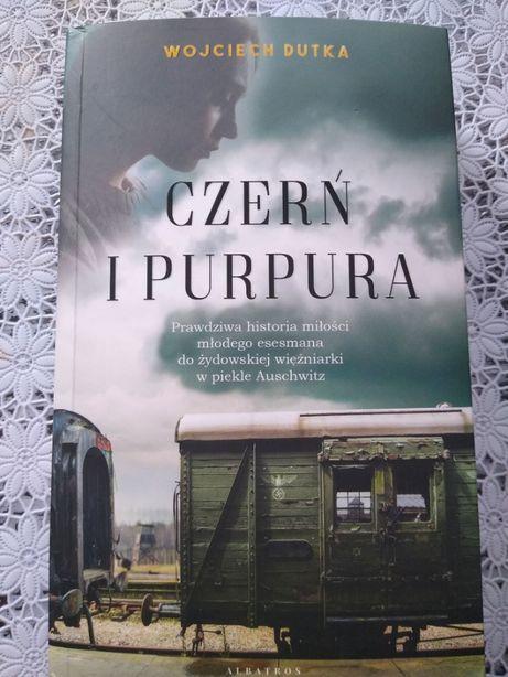 """Książka """"CZERŃ I PURPURA"""", Wojciech Dutka"""