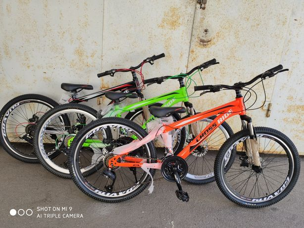 Велосипед горный подростковый crossride skyline 24 и 26 дюймов