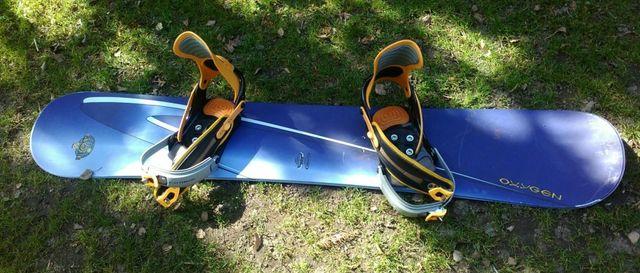 Deska snowboard oxygen plus zapięcia Salomon warszawa Mokotów