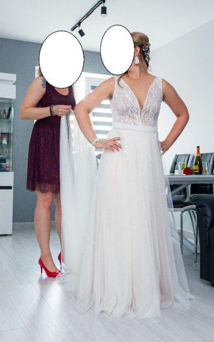 Suknia ślubna Sylwii Kopczyńskiej