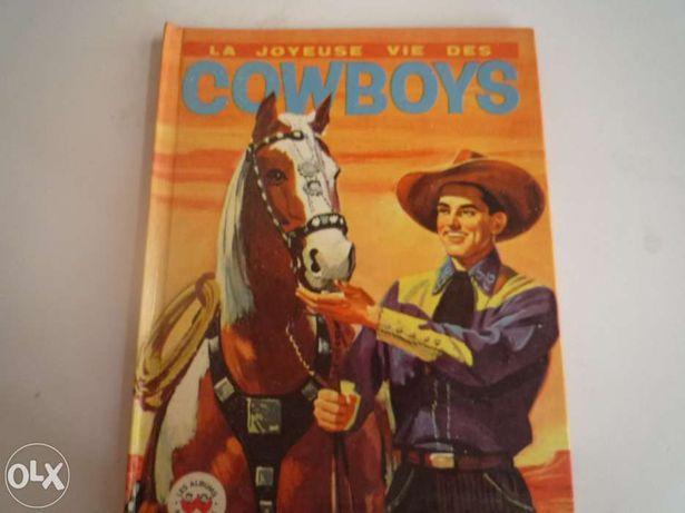 Livro La joyeuse vie des cowboys