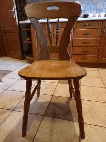 Krzesła drewniane stylowe 4 szt