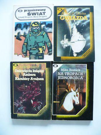 Strugaccy, Clarke, Resnick, Zelazny x4 Seria Fantastyka Przygoda Iskry