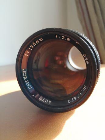 Câmara - Lente/Objetiva Pentor Auto 135 mm