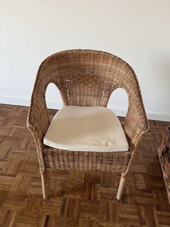 Cadeira de verga AGEN + coxim
