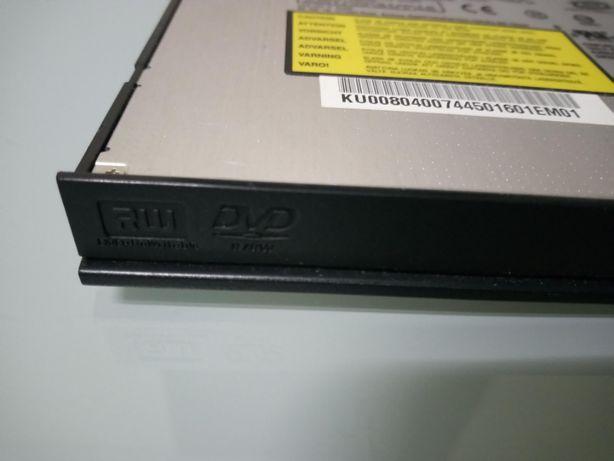 Leitor/gravador de CD e DVD de portátil