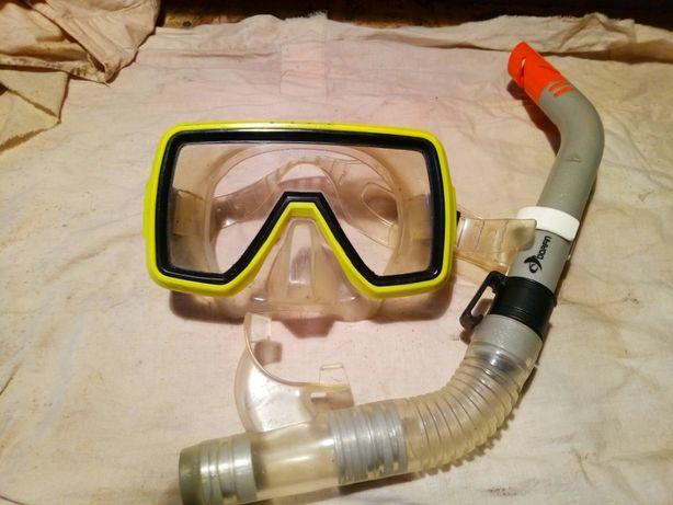 маска для дайвинга Technisub с трубкой Dorfin
