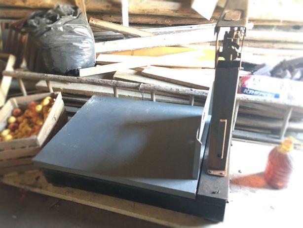 Веса платформенные механические до 1000 кг