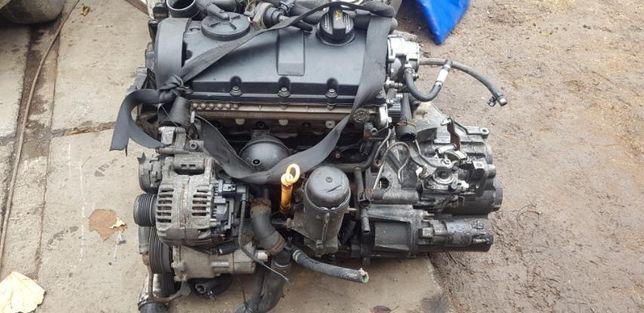 Двигатель 1.9 TDi AUY ASZ VW Sharan Alhambra Galaxy Шаран ГУР КПП 02N
