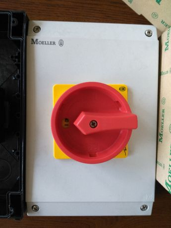 Łącznik krzywkowy 0-1 3P 63A 1Z 1R w obudowie IP65 P3-63/I4/SVB/HI11 2
