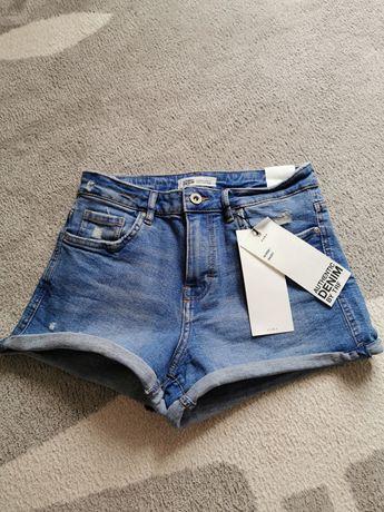 Spodenki shorts Zara nowe 36 s
