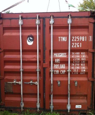 Контейнер морской 20т с доставкой во Львов