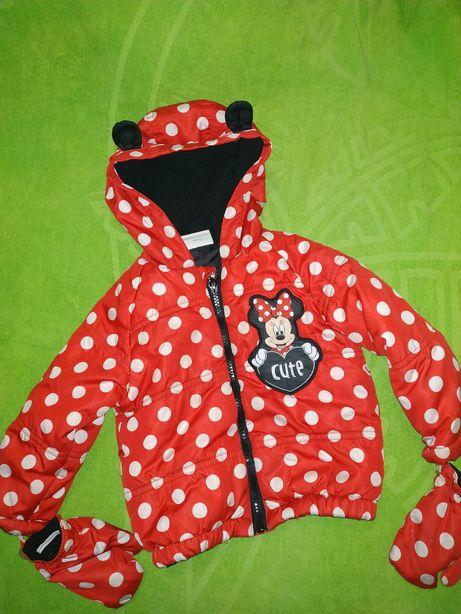 Демисезонная куртка Disney