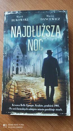 """,, Najdłuższa noc"""" Marek Bukowski, Maciej Dancewicz"""