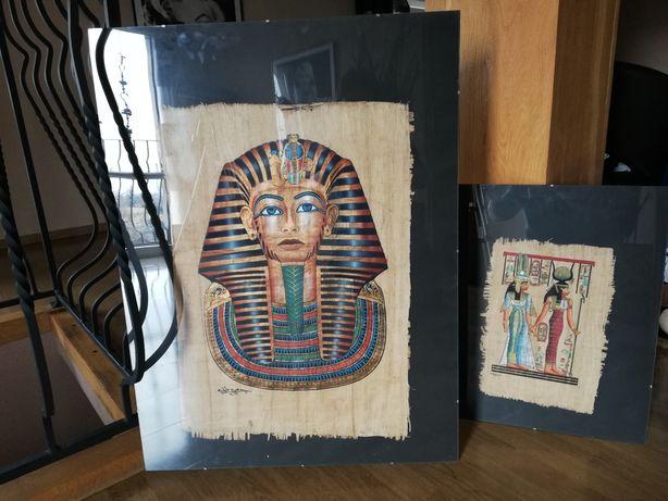 Papirus egipski duży
