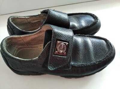 Мокасини туфлі натуральна шкіра шкіра 20см