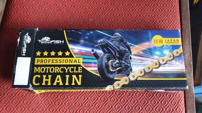 Nowy łańcuch napędowy motocyklowy 530 X-Ring 116, mocny
