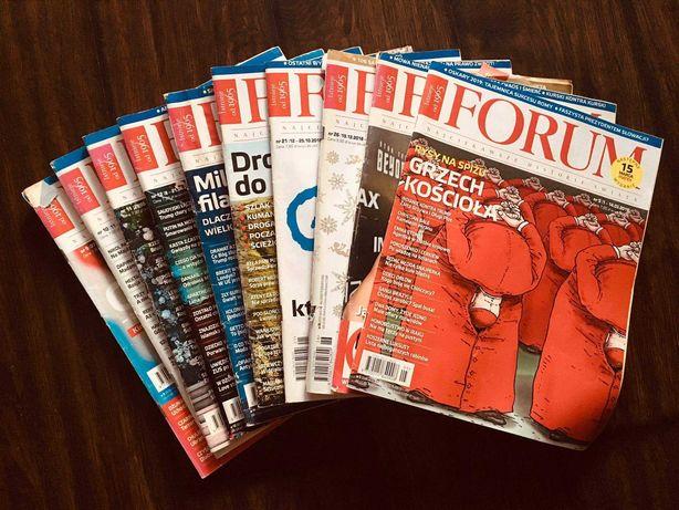 Czasopisma Forum i Newsweek