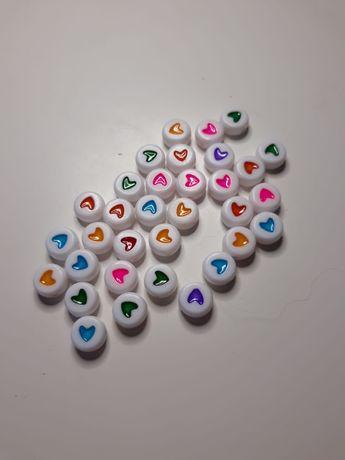 Missangas Corações Coloridos / Smiles