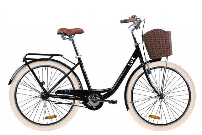 """Велосипед 26"""" Dorozhnik Lux 2020 черный"""