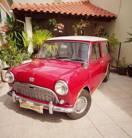 Austin Mini Seven 1/4 Ton Van de 1966