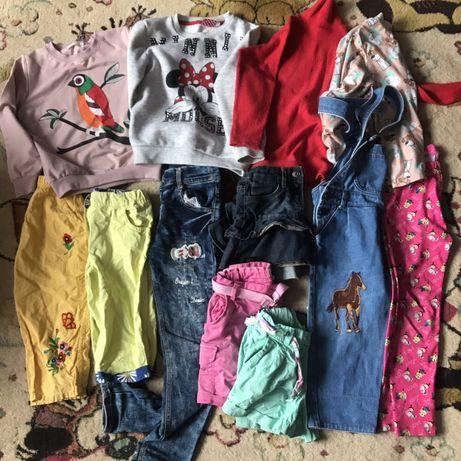 Пакет вещей на девочку 5 лет 7 лет гольф теплый свитер с начесом джинс