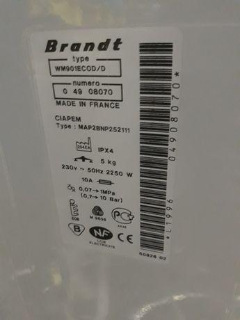 Pralka Brandt na części - silnik oraz inne !!!